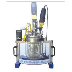 5L实验室均质乳化系统反应器 操作简单