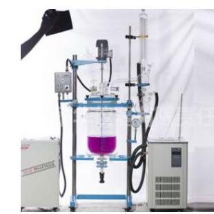YHGSF变频调速双层/三层玻璃反应釜/反应器