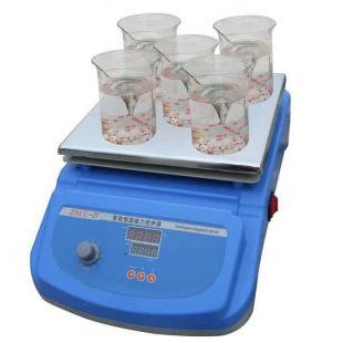 智能恒温多点磁力搅拌器ZNCL-D型可多点同步搅拌 也可单点单独搅拌