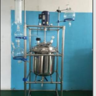予华仪器反应釜/反应器YSF-系列变频调速双层玻璃反应釜