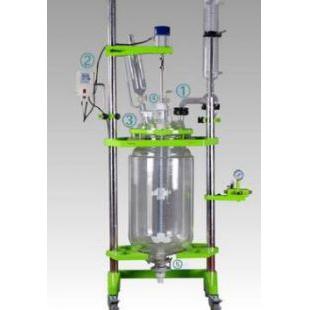 專業廠家直供變頻調速雙層玻璃反應釜