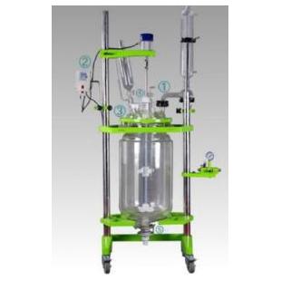 予華儀器雙層玻璃反應釜國內領先反應實驗設備