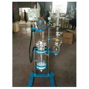巩义予华仪器双层玻璃反应釜厂家直销可定制