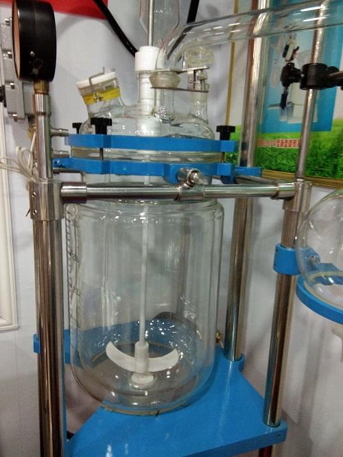托盘型变频调速双层玻璃反应釜YSFT-10L厂家直销欢迎订购