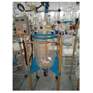 巩义厂家直销 变频调速双层玻璃反应釜
