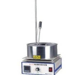集热式恒温加热磁力搅拌器温度均匀效率高