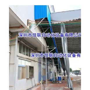 三楼厂房窗口出货梯卸货梯运输带