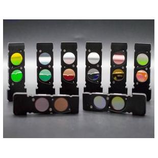 深圳纳宏大量供应UV紫外窄带365nm窄带滤光片透紫外线光学玻璃片