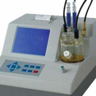 微量水分檢測儀  卡爾費秀水份測定儀