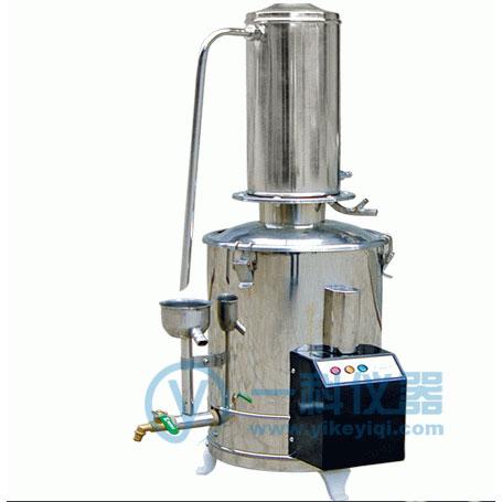 DZ-5L斷水自控不銹鋼蒸餾水器