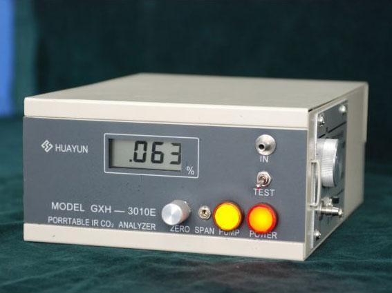 GXH-3010E(测量植物呼吸和土壤中CO2浓度)便携式红外线CO2分析仪