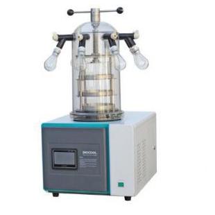 经济型实验室真空冷冻干燥机(台式 -55℃)挂瓶压塞型