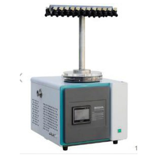 经济型实验室真空冷冻干燥机(台式 -55℃)T型多歧管