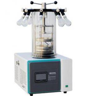 六合开奖结果型实验室真空冷冻干燥机 (台式 -55℃)挂瓶压塞型