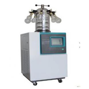 实验室真空冷冻干燥机(立式 -85℃)挂瓶压塞型