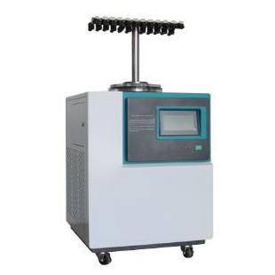 实验室真空冷冻干燥机(立式 -110℃)T型多歧管