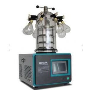 實驗室真空冷凍干燥機(臺式 -55℃)掛瓶壓塞型