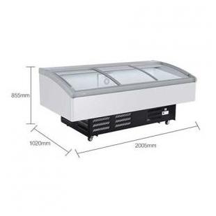 冰柜商用大容量卧式鲜肉柜风冷展示冷柜冷藏