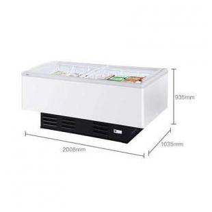 冰柜冷藏冷冻雪糕柜商用大容量冷柜岛柜