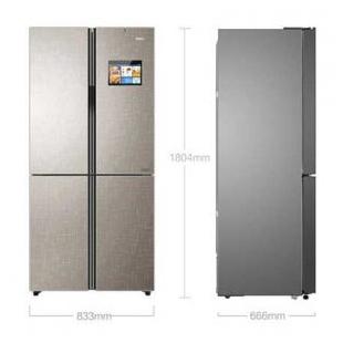 475升 變頻風冷無霜十字對開門冰箱
