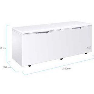 大容量保鲜冷冻两用卧式冷柜