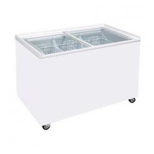 商流冷柜 卧式冷冻展示柜单温冷冻商用冰柜