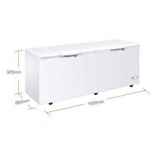 卧式大容量冷藏冷冻单温冷柜