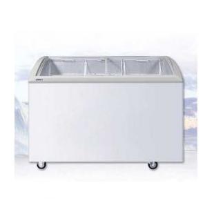 透明门展示柜卧式饮料冷冻冷藏冰柜