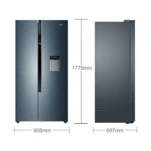 596升雙變頻風冷無霜對開門雙開門冰箱