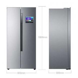 451升變頻風冷無霜對開門雙開門冰箱
