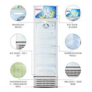 冷柜立式冷藏柜保鮮展示冷柜冰吧啤酒飲料冰柜立式單門冰柜玻璃門展示柜