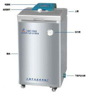 LDZF-75L-II 75立升自动排汽立式高压蒸汽灭菌器---上海申安