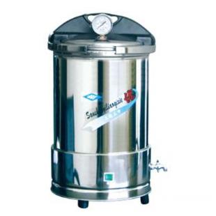 YX280/15座式电热手提式不锈钢压力蒸汽灭菌器