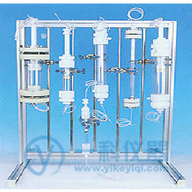 内径7.5长40中压特制玻璃层析柱