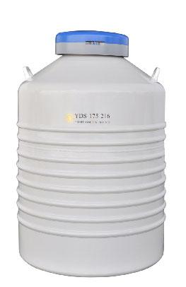 YDS-175-216配多层方提筒的液氮生物容器