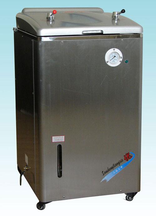 YM50A(YX-400A)不锈钢立式压力蒸汽灭菌器(人工控水型)