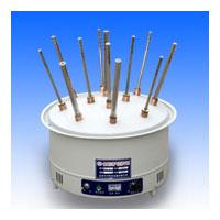 12孔全不锈钢调温型玻璃仪器气流烘干器