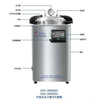 DSX-280KB24  24立升手提式壓力蒸汽滅菌器(第二代)