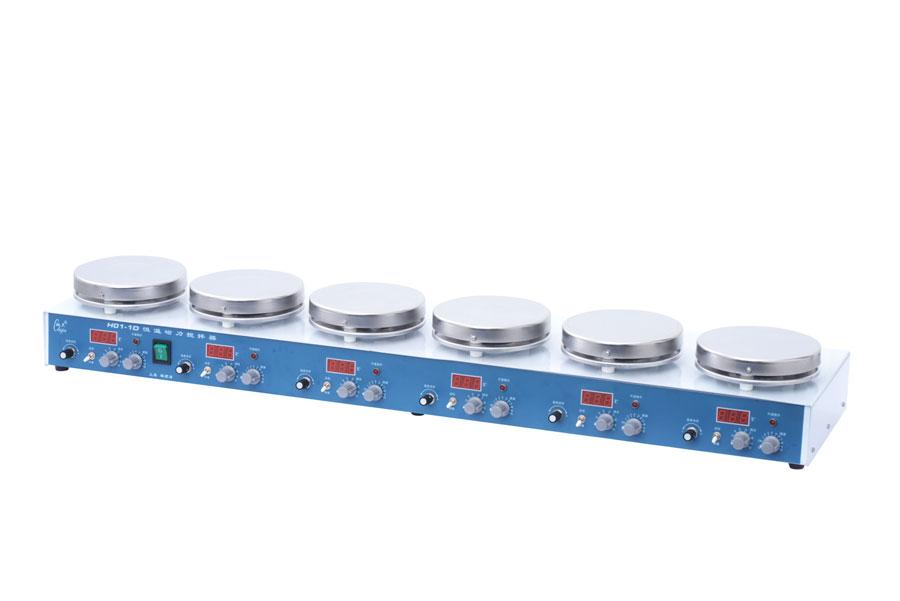 H01-1D多工位磁力搅拌器(带加热)