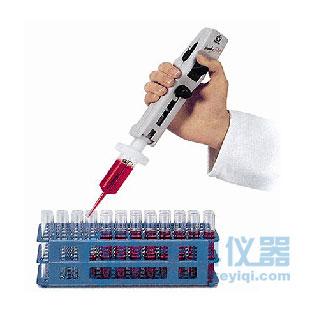 HandyStep® S手动连续分液器,含有挂架