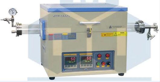 OTF-1200X-80-Ⅱ 1200℃双温区管式炉