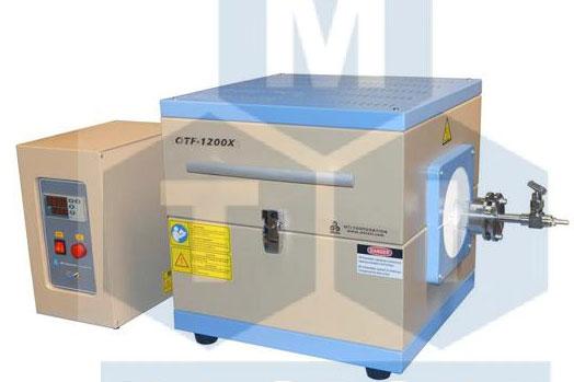OTF-1200X-M12 1000℃小型开启式管式炉
