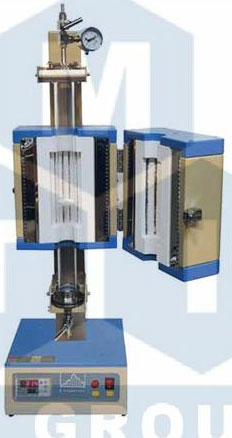 OTF-1200X-S-FB 颗粒悬浮立式管式炉