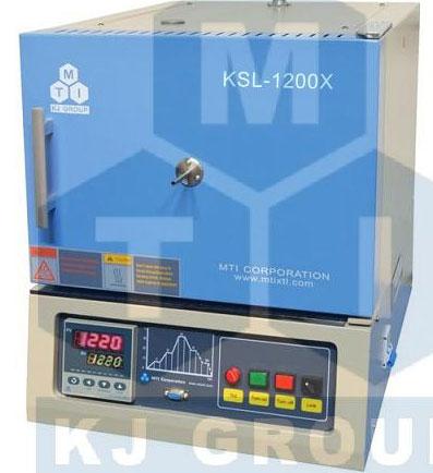KSL-1200X 1200℃台式箱式炉(7.2L,含通气及观察窗口)