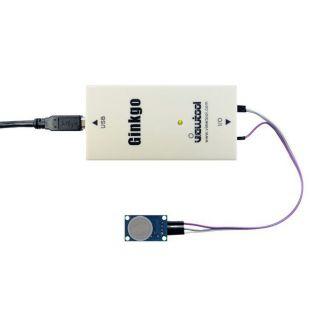 纬图Ginkgo USB-SPI适配器控制MQ7一氧化碳检测模块的一氧化碳监测仪