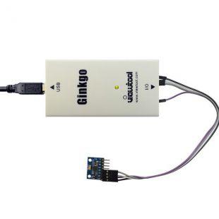 纬图Ginkgo USB-I2C适配器+MPU6050三轴加速度陀螺仪模块