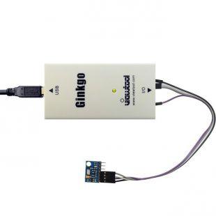 深圳纬图Ginkgo USB-I2C适配器+MS5611高精度气压海拔模块