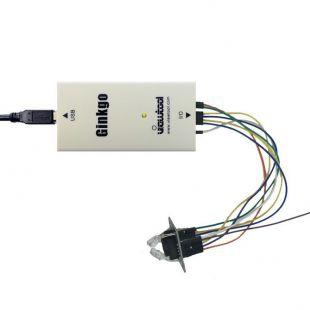 深圳纬图Ginkgo USB-I2C适配器控制TCS3200颜色识别模块