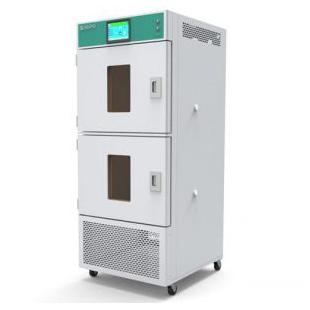 九圃标准双腔体400L可移动式植物培养箱BPC400-2H/C
