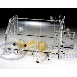 北京东工全透明异型有机玻璃真空手套箱,气体保护操作箱